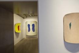 Installation view, Ron Gorchov,Ron Gorchov, S|2 Sotheby's, London, 2015