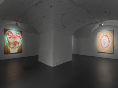 Installation view: Francesco Clemente: Clouds, Vito Schnabel Gallery, St. Moritz, 2019-2020