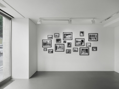 Installation view: Bob Colacello: On The Road