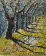 Julian Schnabel  Trees of Home (for Peter Beard) 5, 2020