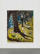 Installation view: Julian Schnabel: Trees of Home (for Peter Beard), 2020