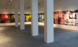 Installation view,The Bruce High Quality Foundation:The Raft of the Medusa / Le Radeau de la Méduse,Galerie Bruno Bischofberger, Zurich,2012