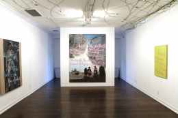 Installation view,Rene Ricard:Go Mae West, Young Man,Los Angeles,2012
