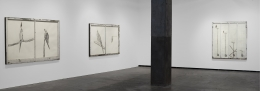 Installation view, Vahakn Arslanian,Jesus Loves Captain Sully Sullenberger,Maccarone Gallery, New York,2009