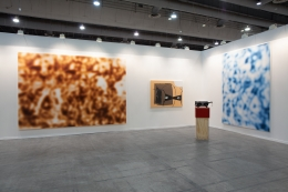 Installation view, Zona Maco, Mexico City, Vito Schnabel Gallery, St. Moritz, 2019