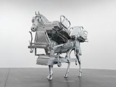 Urs Fischer Horse/Bed,2013