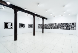 Installation view: Pictures From Another Time: Photographs by Bob Colacello, 1976—82