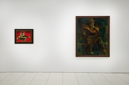 Installation view: Man Ray & Picabia, Vito Schnabel Gallery, New York, March 25 – May 15, 2021