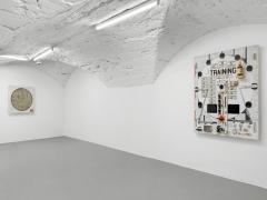Installation view, Tom Sachs, The Pack, Vito Schnabel Gallery, St. Moritz, 2018-2019, © Tom Sachs; Photos by Stefan Altenburger; Courtesy Tom Sachs Studio and Vito Schnabel Gallery