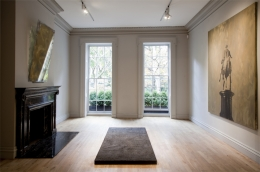 Installation view, The Bruce High Quality Foundation,Meditations of the Emperor,Mark Fletcher, New York,2013