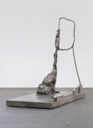 Modern Hiker, 2017, Bronze with silver nitrate patina