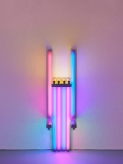 Dan Flavin untitled (to Lucie Rie, master potter) 1jjj, 1990