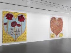 Installation view: Francesco Clemente: 7-23-2020