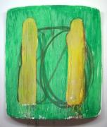 Machpelah, 2005, Oil on linen