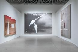 Installation view,Julian Schnabel: Aktion Paintings 1985-2017,ARoS Aarhus Art Museum, Aarhus, Denmark, 2018-2019