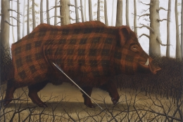 Brueghel the Archer (Boar)