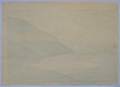YOSHIDA HIROSHI (1867-1950), Tateyama Betsuzan (Mt. Betsu of the Tate Mountain Range)