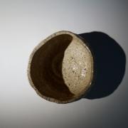Tanimoto Kei (b. 1948), Iga-glazed straight-sided teabowl