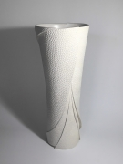 Sutō Satoshi (b. 1976), Vase with impressed patterning