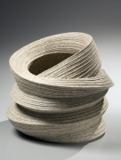 Large banded open-mouthed and double-walled vessel, 2012
