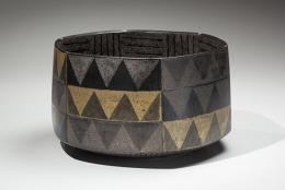 Faceted vessel, 2008, Japanese contemporary, modern, ceramics, sculpture