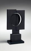 Yamada Hikaru, Japanese ceramic, Japanese sculpture, Japanese non-functional forms, Japanese non-utilitarian forms, Sodeisha, Japanese kokuto, Japanese black clay