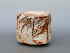 Shino-glazed teabowl, 2010
