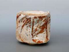 Shino-glazed teabowl, 2010