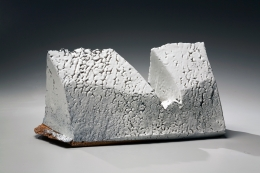 Horizontal sculpture, 2006, Japanese contemporary ceramics, modern, sculpture