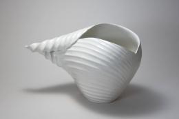 Inaba Chikako (b. 1974), Leaf-shaped Vessel #5