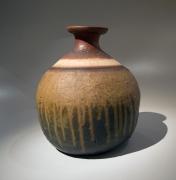 Mori Tōgaku (b. 1937), Big Turnip-shaped Vase