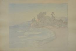 YOSHIDA HIROSHI (1867-1950), Shirahama (Shirahama Beach)