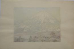 YOSHIDA HIROSHI (1867-1950), Fujisan from Gotenba (Mt. Fuji from Gotenba) (exceptional impression)