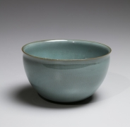 Kawase Shinobu (b. 1950), Suiji (Kingfisher celadon) teabowl