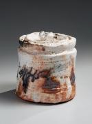 Whiteshino mizusashiwater jar, 2010