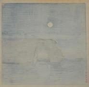 KAWASE HASUI (1883-1957), Moon at Matsushima