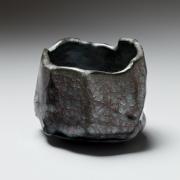 Craqueleur celadon twisting teabowl, 2015