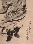 Shibata Zeshin (1807-1891), Shōki, the Demon Queller