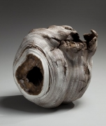 Futamura Yoshimi, Black Hole, 2014, stoneware and porcelain slip, Japanese ceramics, Japanese pottery, Japanese porcelain, Japanese sculpture, Japanese female artist, female ceramist