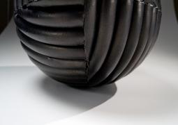 Imai Hyoe, Kukuto; Black Work, 2015, black smoke-infused stoneware, Japanese pottery, Japanese ceramics, Japanese sculpture, Japanese contemporary ceramics