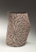 Bent vessel with woven-pattern decoration, 1988