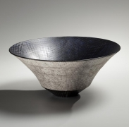 Tapered tiered bowl, 2015, Japanese contemporary, modern, ceramics, sculpture