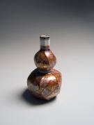 Tomimoto Kenkichi (1886-1963), Sake flask with fern pattern