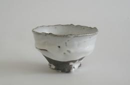 Itabashi Hiromi, White-glazed teabowl
