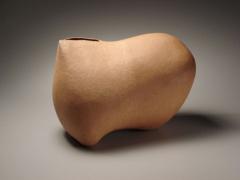 Taniguchi Kazuo, 1990, Japanese stoneware, Japanese sculpture
