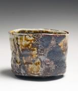 Ajiki Hiro, teabowl, 2010, salt-glazed stoneware, Japanese teaware, Japanese ceramics, Japanese pottery, Japanese clay