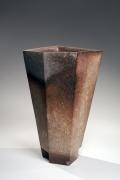 Irregular pentagon standing vase, 2018