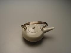 Hirosaki Hiroya (1933-2012), Teapot with silver handle