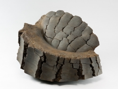 Akiyama Yo, Untitled MV-1015, 2010, Stoneware with iron-filings, Japanese contemporary ceramics, Japanese sculpture