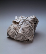 Newspaper sculpture, 1986